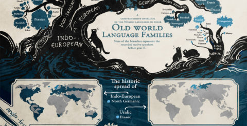 Infographic: The Tree of Languages